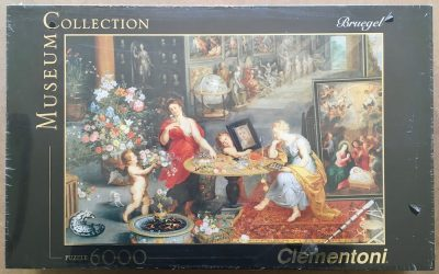 Image of the puzzle 6000, Clementoni, Allegory of Sight and Smell, by Jan Brueghel the Elder, Factory Sealed