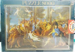 Image of the Puzzle 8000, Educa, Le Parnasse, Factory Sealed