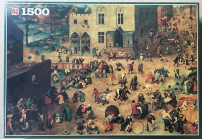 Image of the puzzle 1500, Jumbo, Childrens Games, by Pieter Bruegel the Elder, Factory Sealed, Listed by Bram