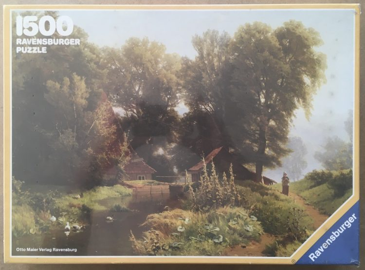 Image of the puzzle 1500, Ravensburger, A Summers Day, Unknown Artist, Factory Sealed