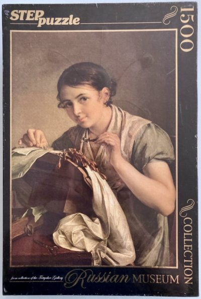 Image of the puzzle 1500, Step, The Lacemaker, by Vasilich Andreevich Tropinin, Factory Sealed