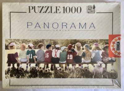 Image of the Puzzle 1000, Educa, Champions, Factory Sealed