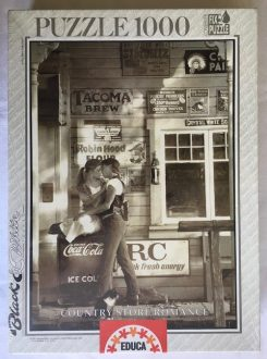 Image of the Puzzle 1000, Educa, Country Store Romance, Factory Sealed