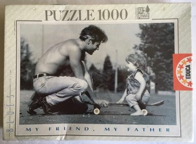Image of the Puzzle 1000, Educa, My Friend, My Father, Factory Sealed