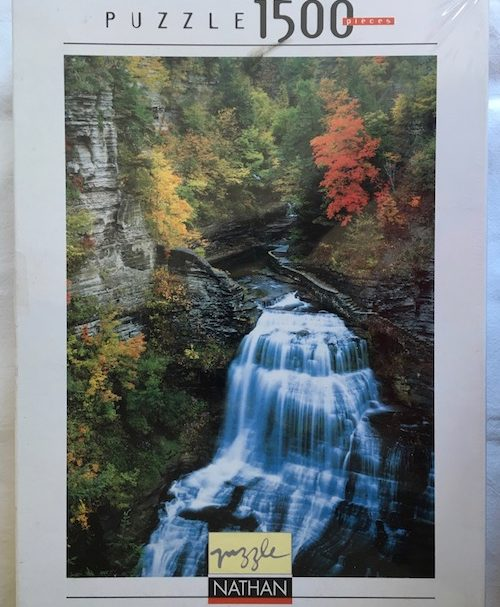Image of the Puzzle 1500, Nathan, Autumn Cascade, Factory Sealed