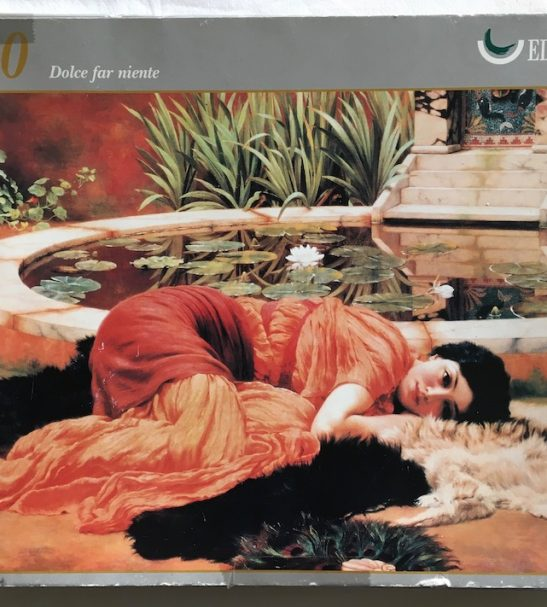 Image of the Puzzle 1500, Ricordi, Dolce Far Niente, Complete