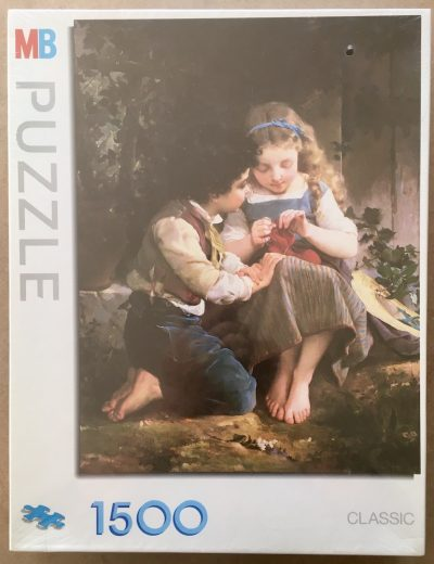 Image of the puzzle 1500, MB, A Special Moment, by Émile Munier, Factory Sealed