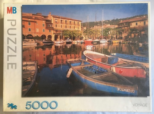 Image of the Puzzle 5000, MB, Lake Garda, Italy, Factory Sealed