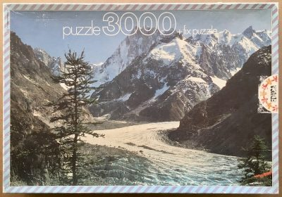 Image of the puzzle 3000, Educa, Grandes Jorasses, France, Sealed Bag, Picture of the box