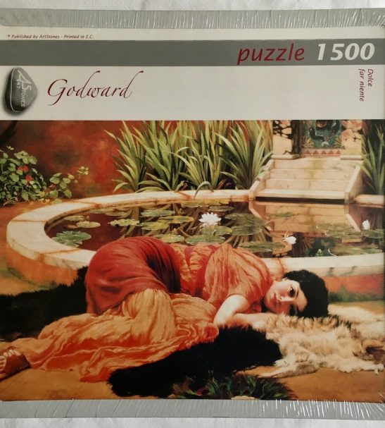 Image of the Puzzle 1500, Art Stones, Dolce Far Niente