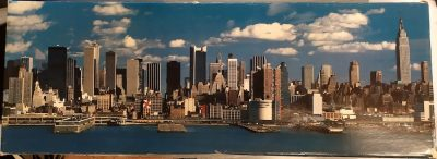 Image of the puzzle Puzzle 7500, F.X. Schmid, Skyline, New York, Sealed Bag, Picture of the box