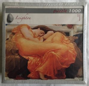 Image of the Puzzle 1000, Art Stones, Flaming June, Factory Sealed