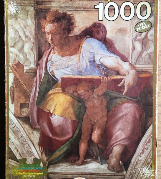 Image of the Puzzle 1000, Educa, The Prophet Daniel, Picture of the Box