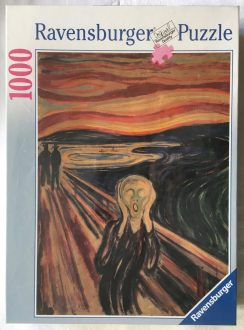 Image of the Puzzle 1000, Ravensburger, The Scream, Factory Sealed