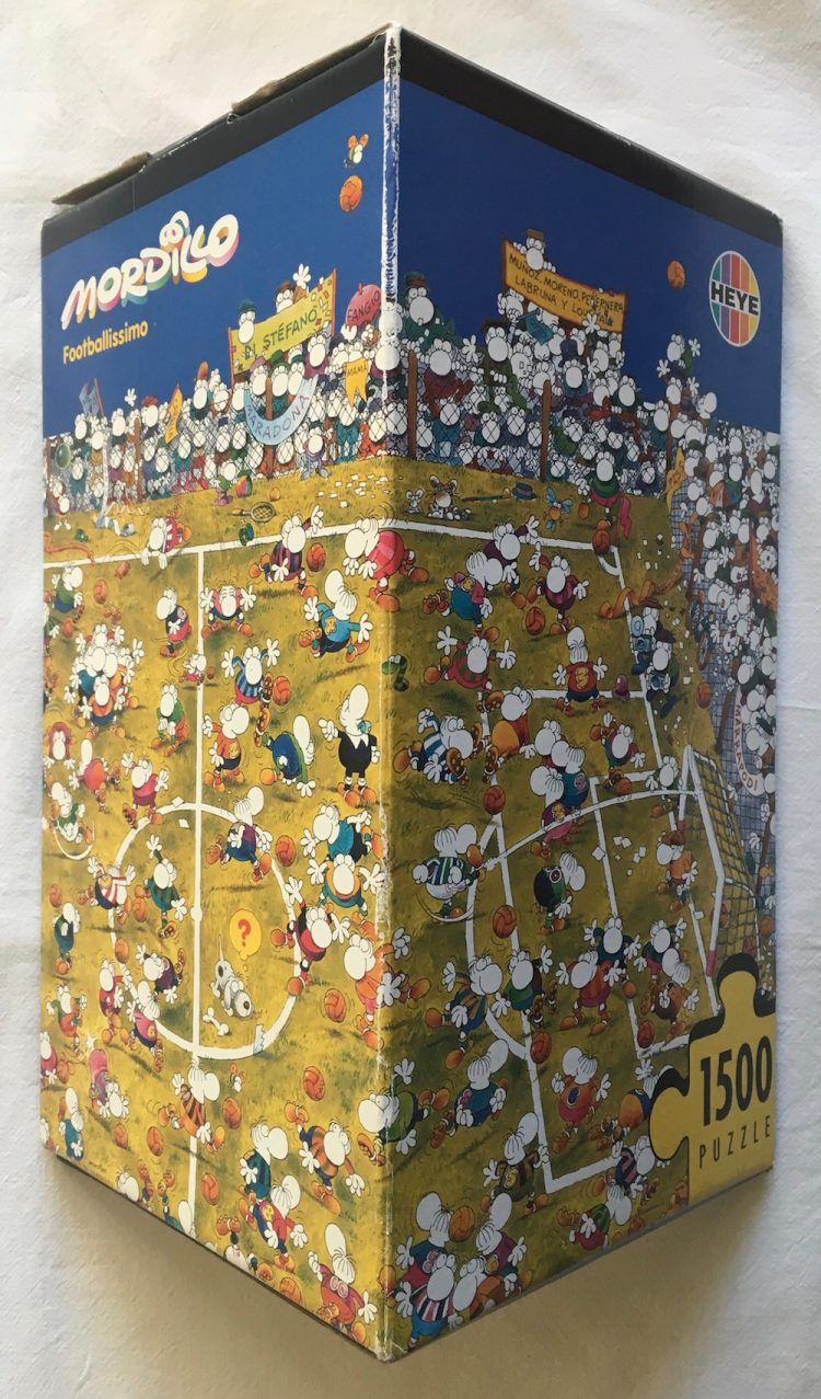 Image of the Puzzle 1500, Heye, Footballissimo, Sealed Bag, Picture of the Box