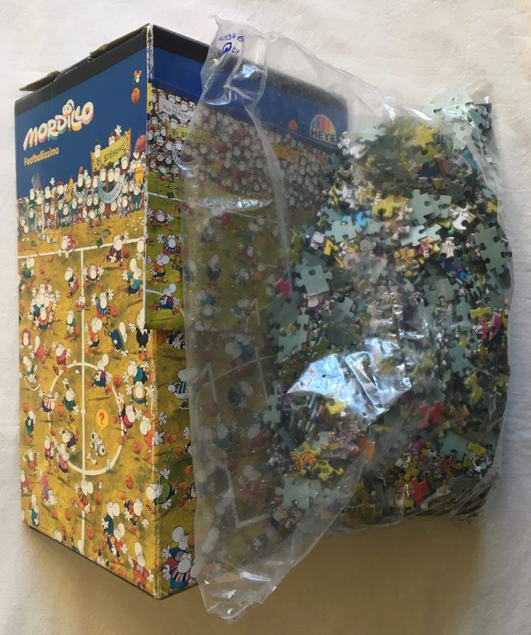 Image of the Puzzle 1500, Heye, Footballissimo, Sealed Bag, Picture of the Bag