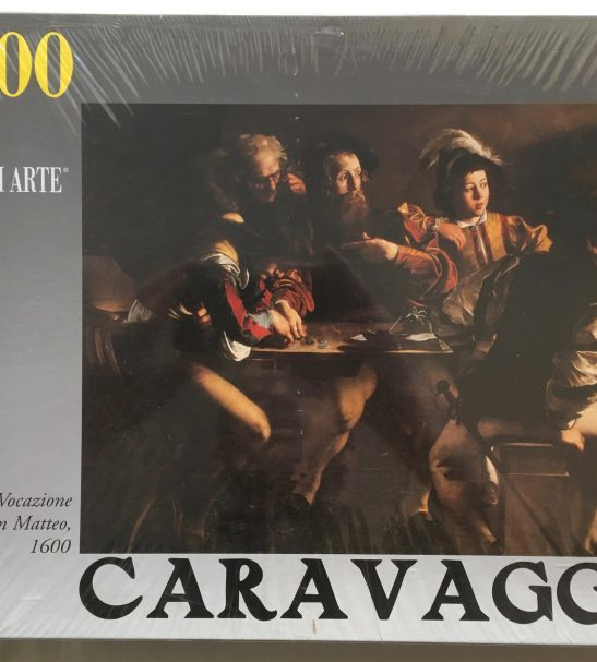Image of the Puzzle 1500, Ricordi, The Calling of Saint Matthew, by Caravaggio, Factory Sealed