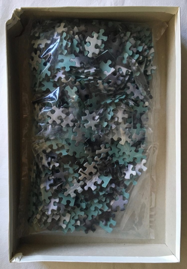 Image of the Puzzle 500, MB, Grandma Umbrella, Sealed Bag, Picture of the Bag