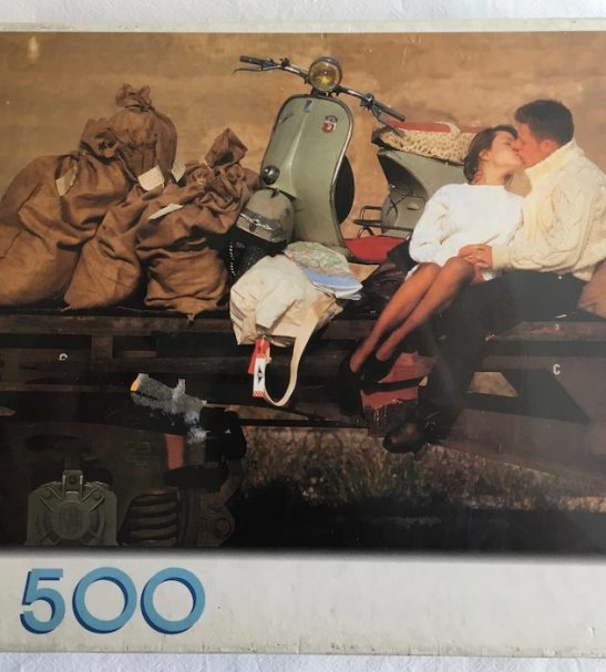 Image of the Puzzle 500, MB, On the Mail Train, Factory Sealed