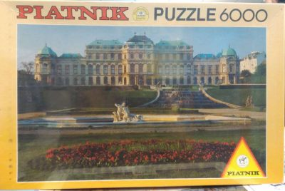 Image of the Puzzle 6000, Piatnik, Belvedere Palace, Vienna, Sealed Bag, Picture of the Box