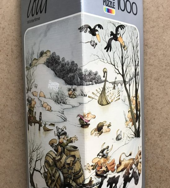 Image of the Puzzle 1000, Heye, Wintertime, Complete, Picture of the Box