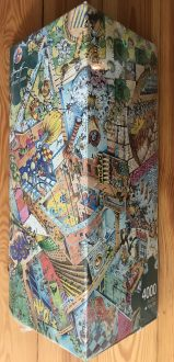 Image of the Puzzle 4000, Heye, Upside Down, Factory Sealed, Picture of the Box