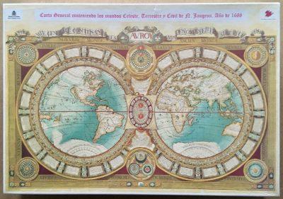 Image of the puzzle 1500, Educa, Carta General Conteniendo..., Factory Sealed