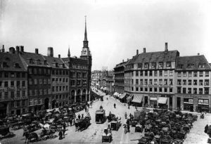Image of the Kultorvet Square in Copenhagen