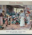 Image of the Puzzle 1500, Bon, Flower Market, Sealed Bag, Picture of the Box