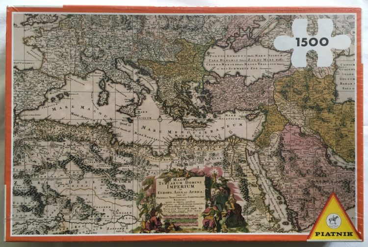 Puzzle 2000, Piatnik, The Mediterranean and its Countries, Factory Sealed