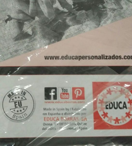 Image of the Puzzle 4000, Educa, The End of the Song, Factory Sealed, Picture of the Tear