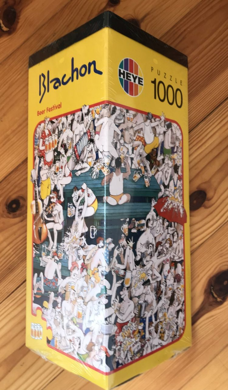 Image of the Puzzle 1000, Heye, Beer Festival, Factory Sealed, Picture of the Box