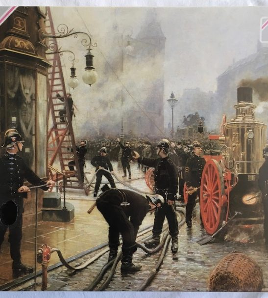 Image of the Puzzl 1500, Falcon, The Fire Brigade in Copenhagen, Factory Sealed