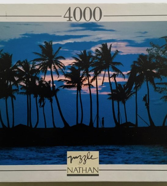Image of the Puzzle 4000, Nathan, Sunset, Sealed Bag, Picture of the Box