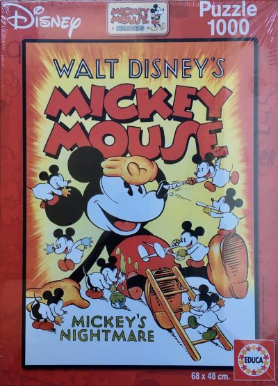 Image of the Puzzle 1000, Educa, Mickeys Nightmare, Factory Sealed
