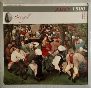 Image of the Puzzle 1500, Art Stones, Peasant Dance, Factory Sealed