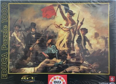 1000, Educa, Liberty Leading the People, by Eugène Delacroix, Factory Sealed