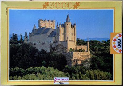 Image of the puzzle 3000, Educa, The Alcazar, Segovia, Picture of the box