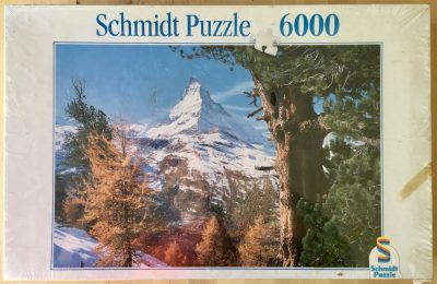 Image of the puzzle 6000, Schmidt, Matterhorn, by R. Kirsch, Factory Sealed
