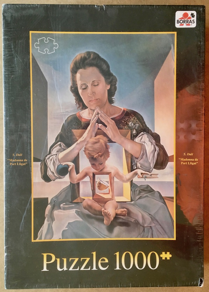 Image of the puzzle 1000, Borrás, The Madonna of Port Lligat, by Salvador Dalí