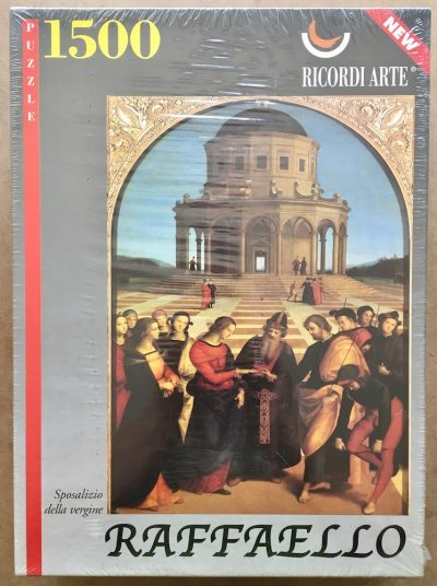 Image of the puzzle 1500, Ricordi, The Marriage of the Virgin, by Raphael, Factory Sealed