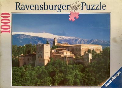 Image of the Puzzle 1000, Ravensburger, The Alhambra, Granada, Spain