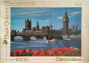 Image of the Puzzle 1000, Clementoni, Big Ben, London, Factory Sealed
