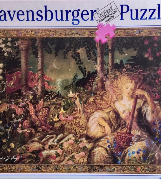Image of the Puzzle 1000, Ravensburger, Serenade