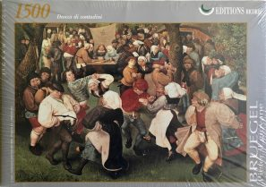 Image of the Puzzle 1500, Ricordi, Peasant Dance, Pieter Brueghel the Younger, Factory Sealed