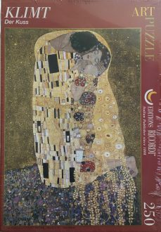 Image of the Puzzle 250, Ricordi, The Kiss, by Gustav Klimt, Factory Sealed