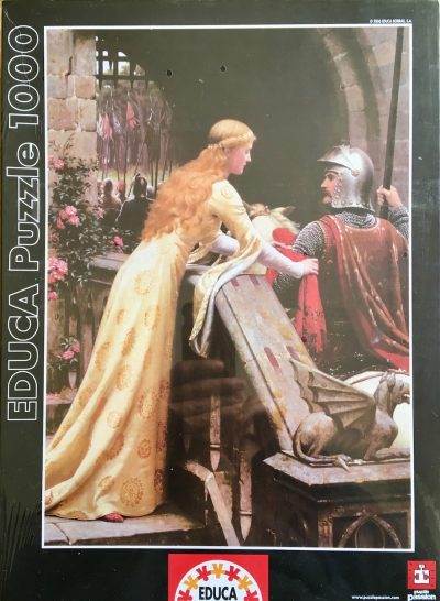 1000, Educa, God Speed, by Edmund Blair Leighton, Factory Sealed