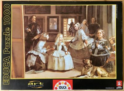 Image of the puzzle 1000, Educa, Las Meninas, Complete, Picture of the box