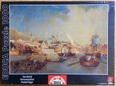 Image of the puzzle 1000, Educa, Golden Horn, Istanbul, by Thomas Allom, Factory Sealed