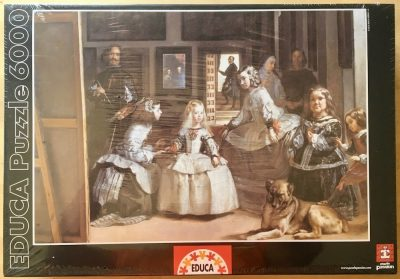 Image of the puzzle 6000, Educa, Las Meninas, by Diego Velázquez, Factory Sealed